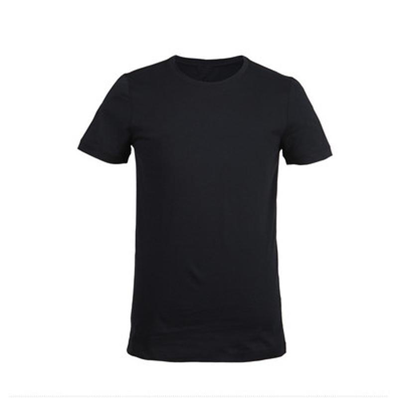 Summer new men 39 s t shirt bamboo fiber solid color t shirt for Bamboo fiber t shirt