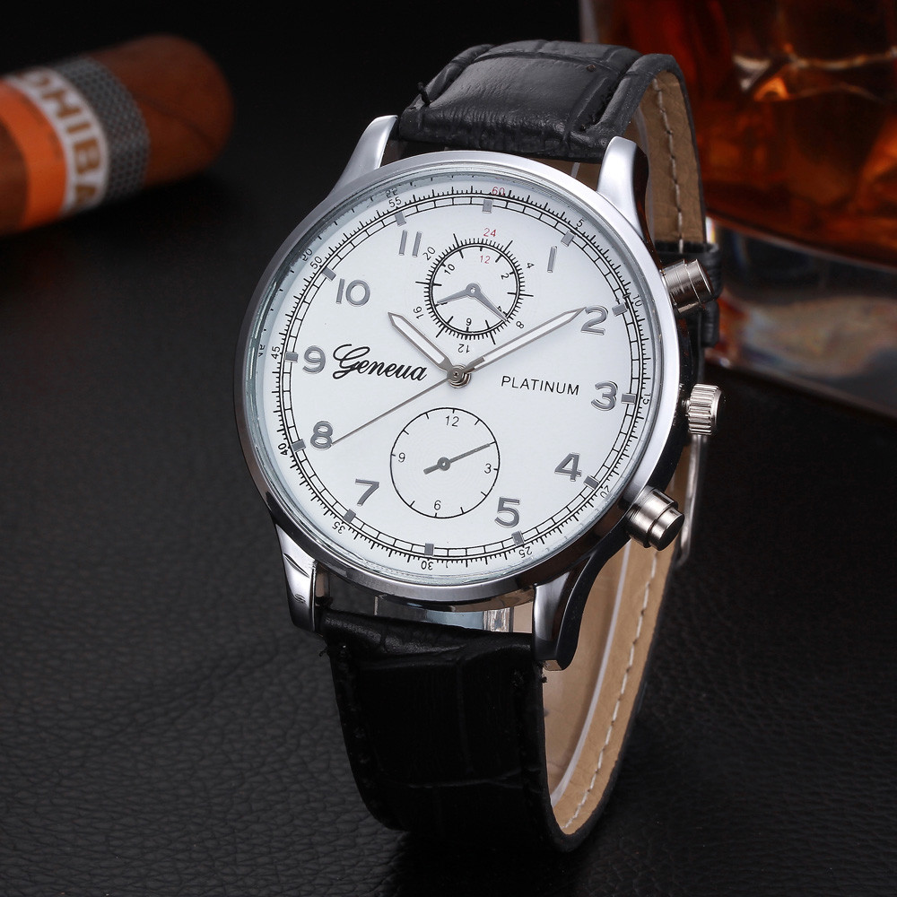 Mens Wrist Watches Leather Gifts for Mens bracelet by dganin |Wrist Watch For Men Leather