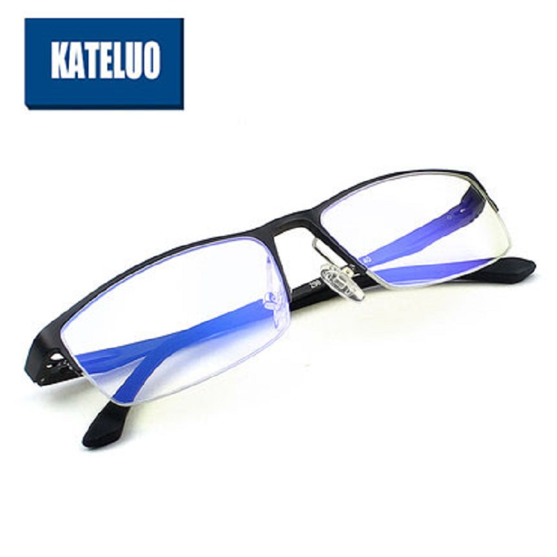 Aluminum Magnesium Anti Blue Laser Fatigue Radiation-resistant Men's Optical Eyeglasses Glasses Frame Oculos de grau Eyewear 298