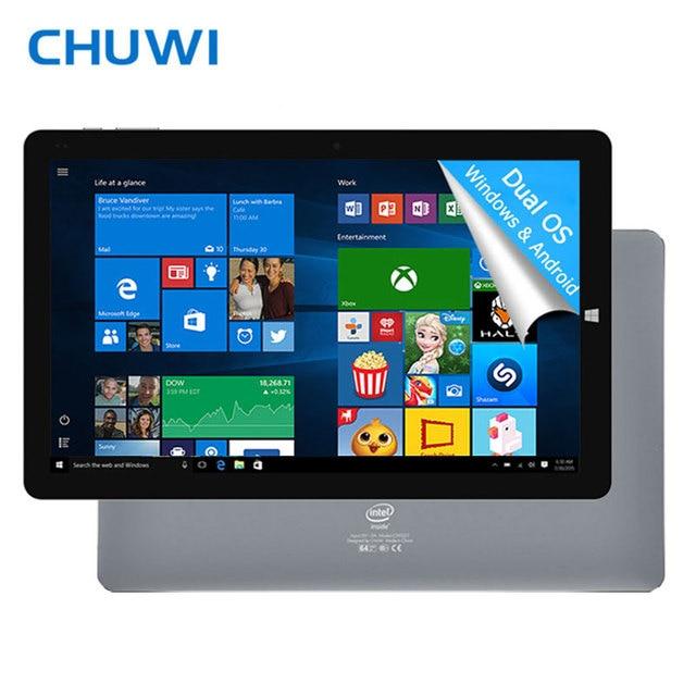 Chuwi официальный! 10. 8 дюймов Chuwi Hi 10 Plus Tablet PC Windows 10 двойной ОС Android 5.1 Intel Atom Z8350 Quad Core 4 ГБ Оперативная память 64 ГБ Встроенная память