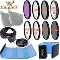 KnightX FLD УФ CPL н. д. Линии Звезда Комплект Фильтров набор Цветов Для Nikon Canon D3300 100D 700D 1200D DSLR Камеры 49 ММ 52 ММ 55 ММ 58 ММ 67 ММ