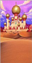 Aladdin Arabian Palácio Castelo de Areia Do Deserto de Entrada Fundos cenários de Vinil Computador pano impressão dos miúdos das crianças