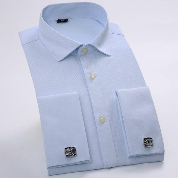 0b3d48d35036be 2016 brand new męska biznes koszule schudnięcia długim rękawem bawełniana  bluzka jakości mężczyzna koszula duży rozmiar s-4xl mężczyźni clothing