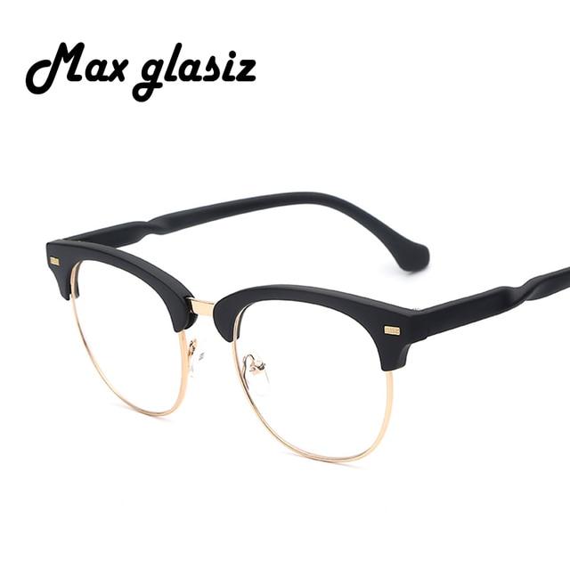 Venda quente 2018 Moda Retro Mulheres Negras Óculos Novo Designer Homens de  Nerd Óculos de Armação 5eb4a4acdf