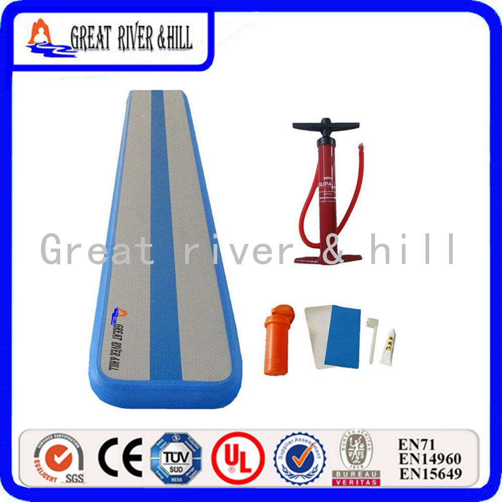 5m x04m x01m gymnastics air balance beam outdoor inflatable gymnastics air beam
