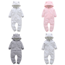 Baby Rompers Spring Autumn Newborn Baby Clothes Cotton BabyBoy Girl Clothing  Roupas Bebe Infant Jumpsuits infant romper spring autumn baby clothes flannel baby boys clothes cartoon animal jumpsuits infant girl rompers baby clothing