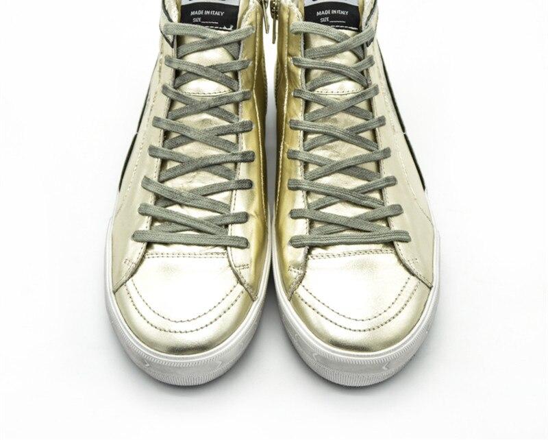 Italy Deluxe Brand Women Men Original Casual Golden Shoes Fashion High Top Breathable Gold Goose Shoes Uomo Scarpe Donna Ganso hogan scarpe uomo