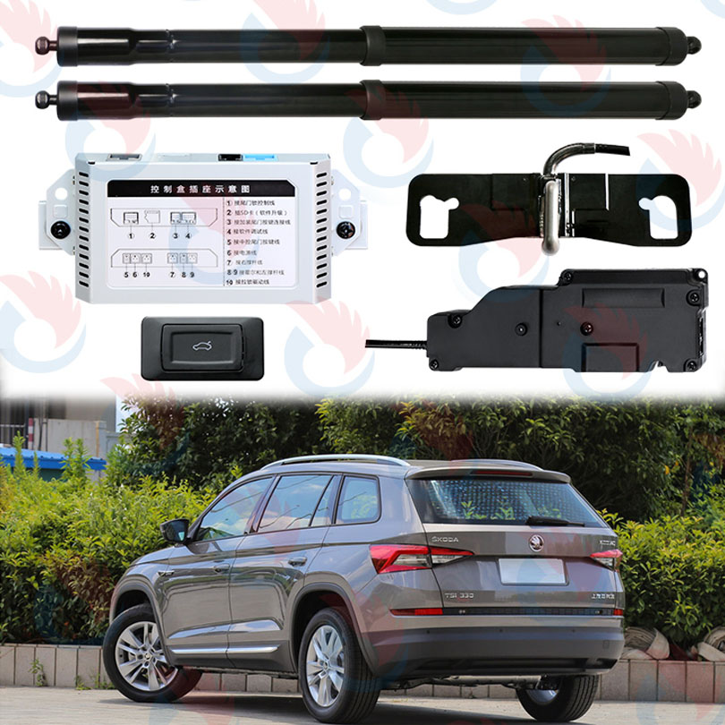 Smart Auto Electric Tail Gate Lift Special For Skoda Kodiaq 2017 With Latch