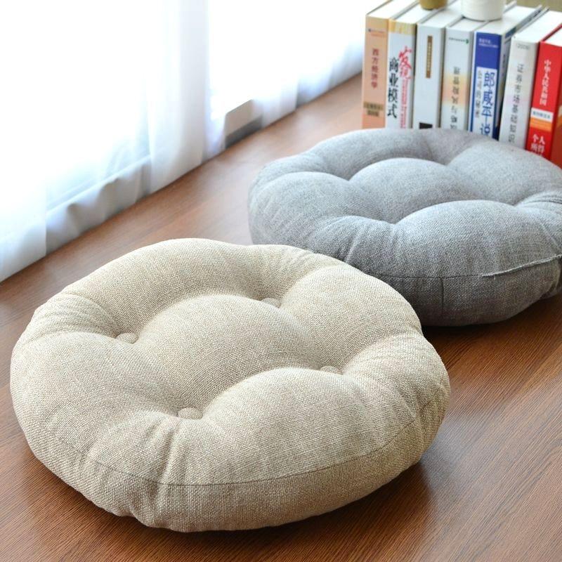 Aliexpresscom Buy Linen Futon Thickening Circle Large