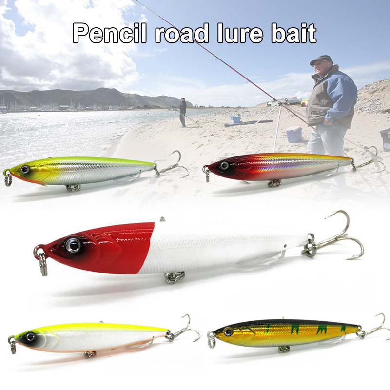 1 Pcs Artificial Simulation Fishing Lure Bait 8.5cm 13g Hooks Accessories Tool For Lake ALS88