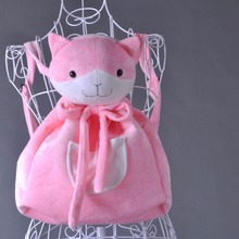 Cosplay Nanami ChiaKi cos cartoo Anime Danganronpa 3 Halloween Kerst meisjes leuke roze kat Rugzak props zakken