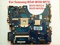 Para samsung r540 r530 r570 ba92-06912b ba92-06912a placa madre del ordenador portátil hm55 100% probado nave rápida