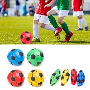 Children Soccer Ball Kid Gift Training Inflatable Football 20cm Elastic Balls inflatable football ball inflatable soccer ball game for adults and kids