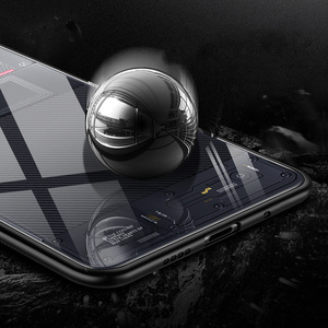 Image 3 - Aixuan Glass Case For Xiaomi mi 9/Mi9 Explorer/Xiaomi mi 9 SE Case painted Tempered Glass Silicon Protective full Cover Cases