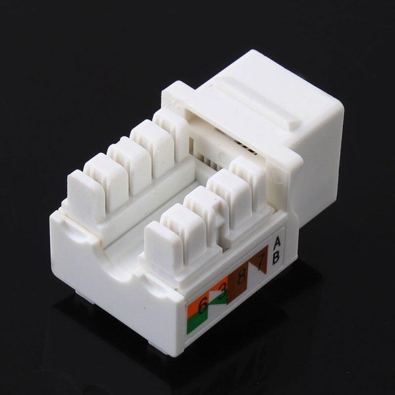 SchöN 10 Teile/los Cat6 Rj45 110 Anlege Keystone Netzwerk Ethernet Jack #53089 Strukturelle Behinderungen Networking Networking-tools