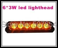 Υψηλής έντασης 6 * 3W οδήγησε φώτα - Φώτα αυτοκινήτων - Φωτογραφία 3