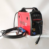 Professional 195A Synergic MIG Welding Machine 4in1 Multifunction Welding Equipment MIG MAG MMA TIG Spool Gun