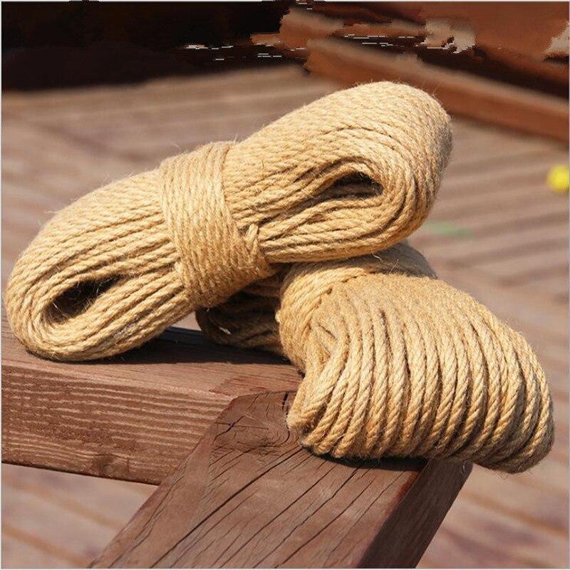 Cotton Rope Cord 2,5mm 500m Braided Natural Beige Sash Garden Decking Decorative