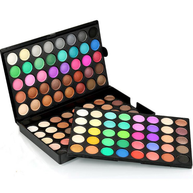 120 Color Makeup Eye Shadow Palette Shimmer Glitter Earth Colors Matte Cosmetics Eyeshadow Palette Power Set Maquiagem