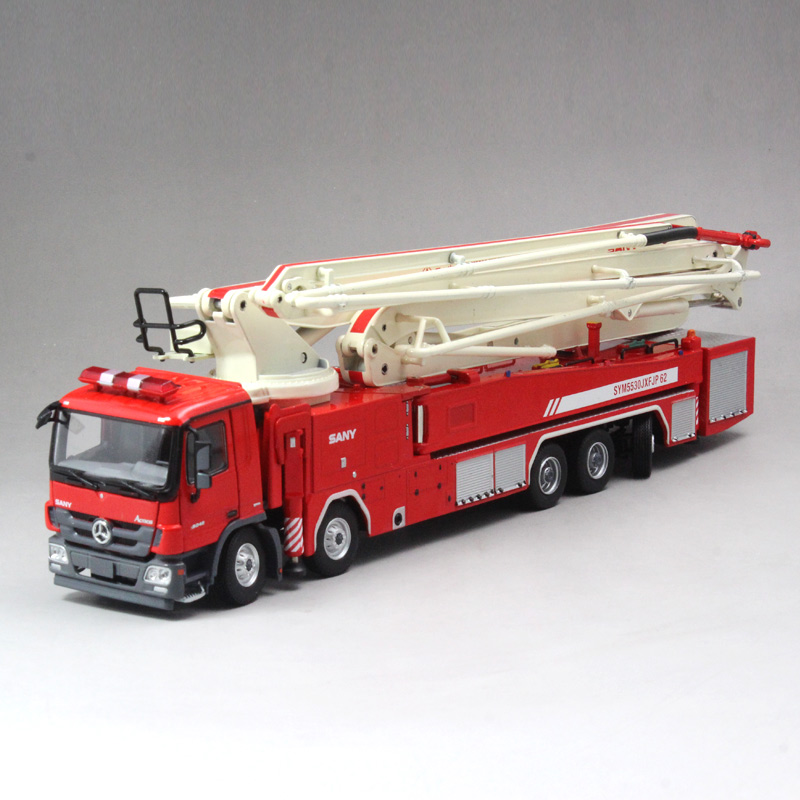 1 50 SANY 62 M Wanter Tower Fire Truck toy