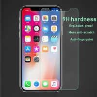 9H HD Gehärtetem Glas Für iphone 6s glas iphone x glas iphone xr screen protector glas auf iphone 7 glas iphone 8 plus glas
