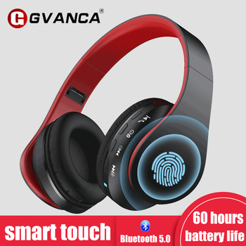 Earphones G1 Smart Touch 5.0 Bluetooth Active Noise Cancelling Headset Headphones 5.0