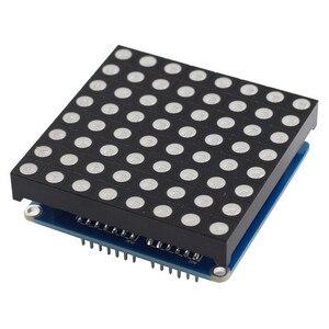Image 3 - SunFounder 8x8 מלא צבע RGB LED מטריקס נהג חומת + RGB מטריקס מסך עבור Arduino