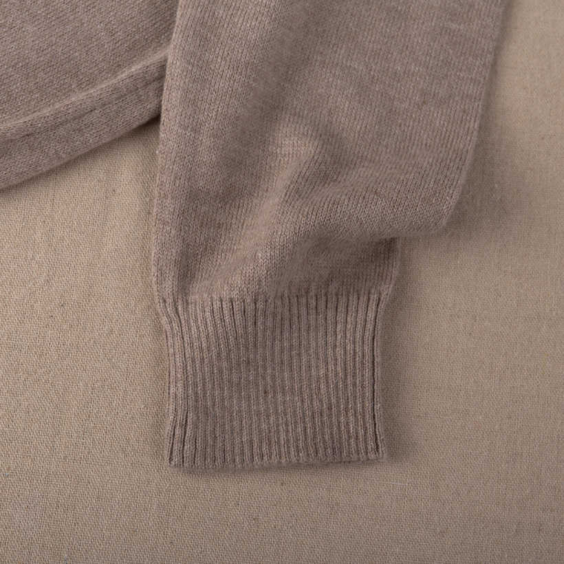 באיכות גבוהה 2020 סתיו חורף קשמיר כותנה מעורבב סרוג נשים סוודרים ג 'רזי מגשר למשוך femme hiver