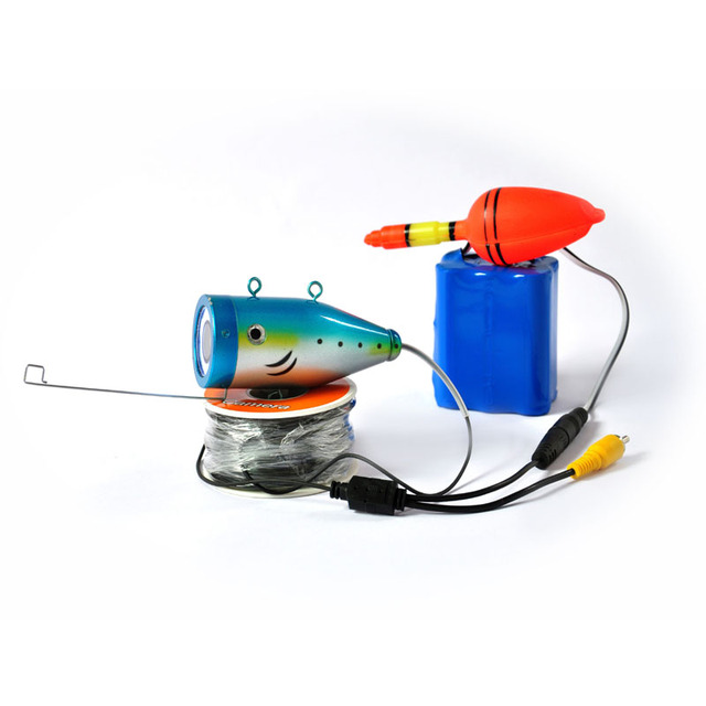 15Meter Deepth Cable &  Super Mini 700TVL Underwater Camera 4