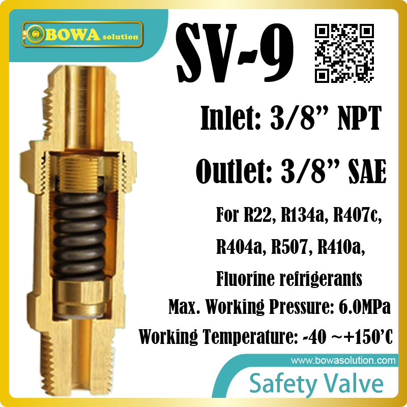 refrigeration safety valves are installed in pressure tanks, such as condenser, liquid refrigerant receievers and oil separators thermo operated water valves can be used in food processing equipments biomass boilers and hydraulic systems