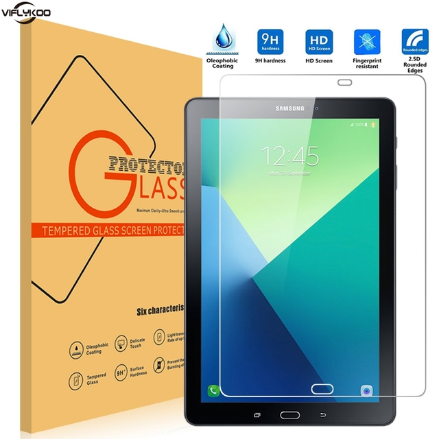 Viflykoo Screen Protector For Sumsung Galaxy Tab A 10.1 With S Pen SM-P585 9H Tempered Glass Flim Guard Tablet PC Pad Cover