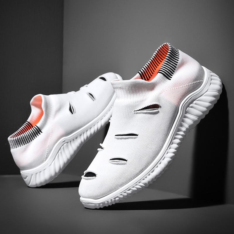 Hemmyi chaussures décontractées hommes 2019 nouveau produit sans lacet Chaussure Homme respirant confort printemps/automne Homme chaussures livraison directe du fournisseur