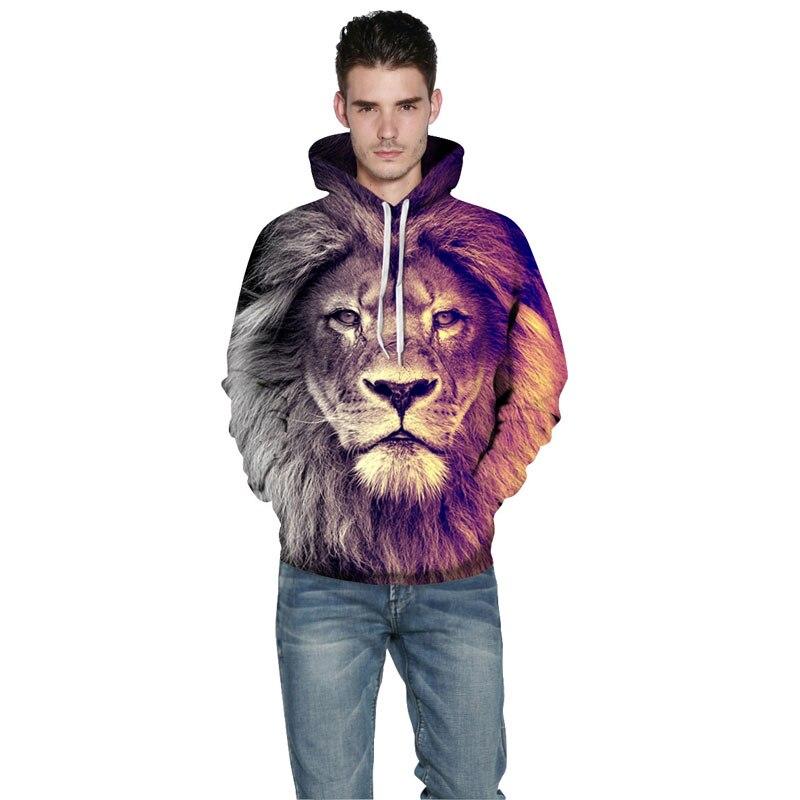 Mr.1991INC New Fashion Animal Style Sweatshirts Men/Women Pullovers Print Lion Hoodies Hooded Tracksuits Autumn Thin Tops Men/Women Pullovers Print Lion Hoodies HTB1EIB9SpXXXXatXpXXq6xXFXXXI