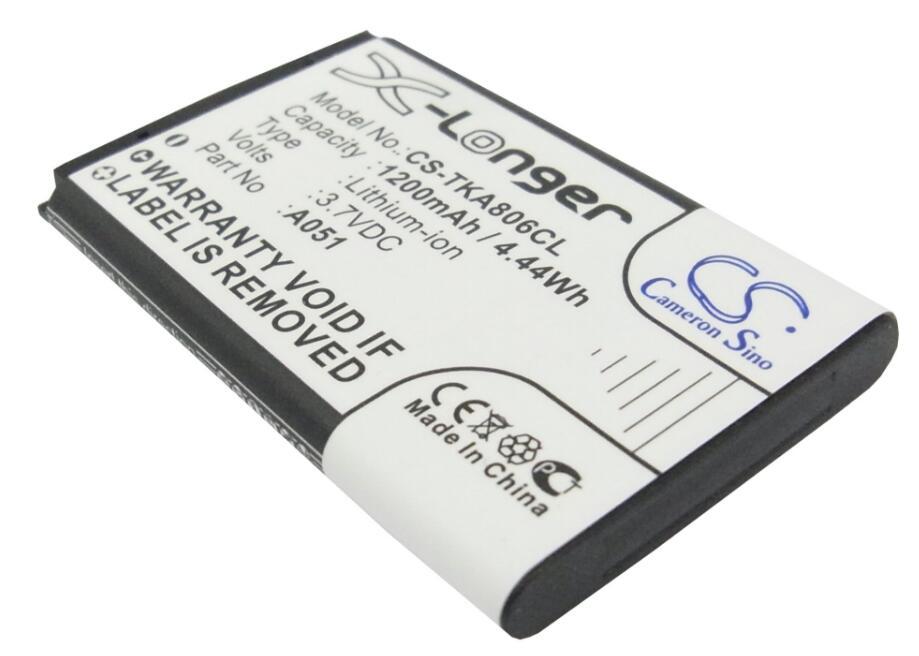 Cameron Sino 1200 Mah Batterij Voor Snom M65 T-com Sinus A806 Telefunken Fhd 170/5 Telekom A806 A051 10000058