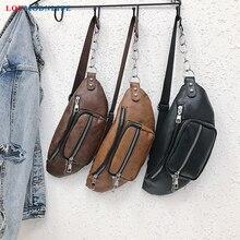 Women Fanny Packs Unisex Belt Bags WaterProof Leather Waist Bag Ladies Blet Pouch Girls Phone Banana Bag Men's Purse On Shoulder