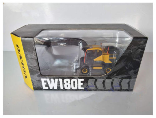 цена на MOTORART VOLVO EW180E WHEELED EXCAVATOR 1/50 Scale Die-cast Model Collection