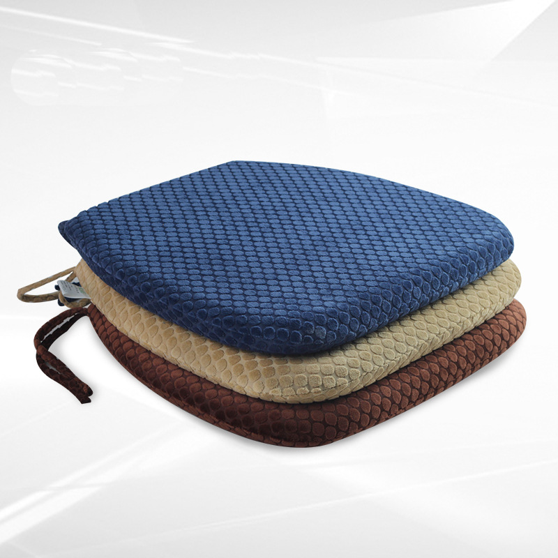 2017 New Design Chair Cushion Memory Foam Pillow For Car Desk Warm Seat Pads Home Decorations