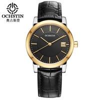 Relogio Feminino OCHSTIN Luxury Top Brand Women Bracelet Watch Gold Leather Strap Watch With Date Ladies