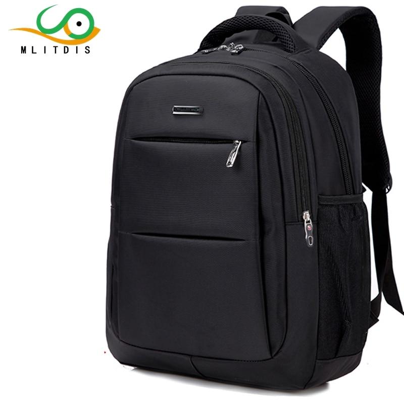 все цены на MLITDIS shoulder bag student backpack computer backpack large capacity bag business bag middle school students schoolbag oxford онлайн