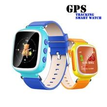 Perseguidor de Los GPS Localizador de Niños Reloj Inteligente Q80 Llamada SOS Anti Recordatorio perdido Dispositivos Niños reloj de Pulsera Teléfono PK q90 q50 q60 B0