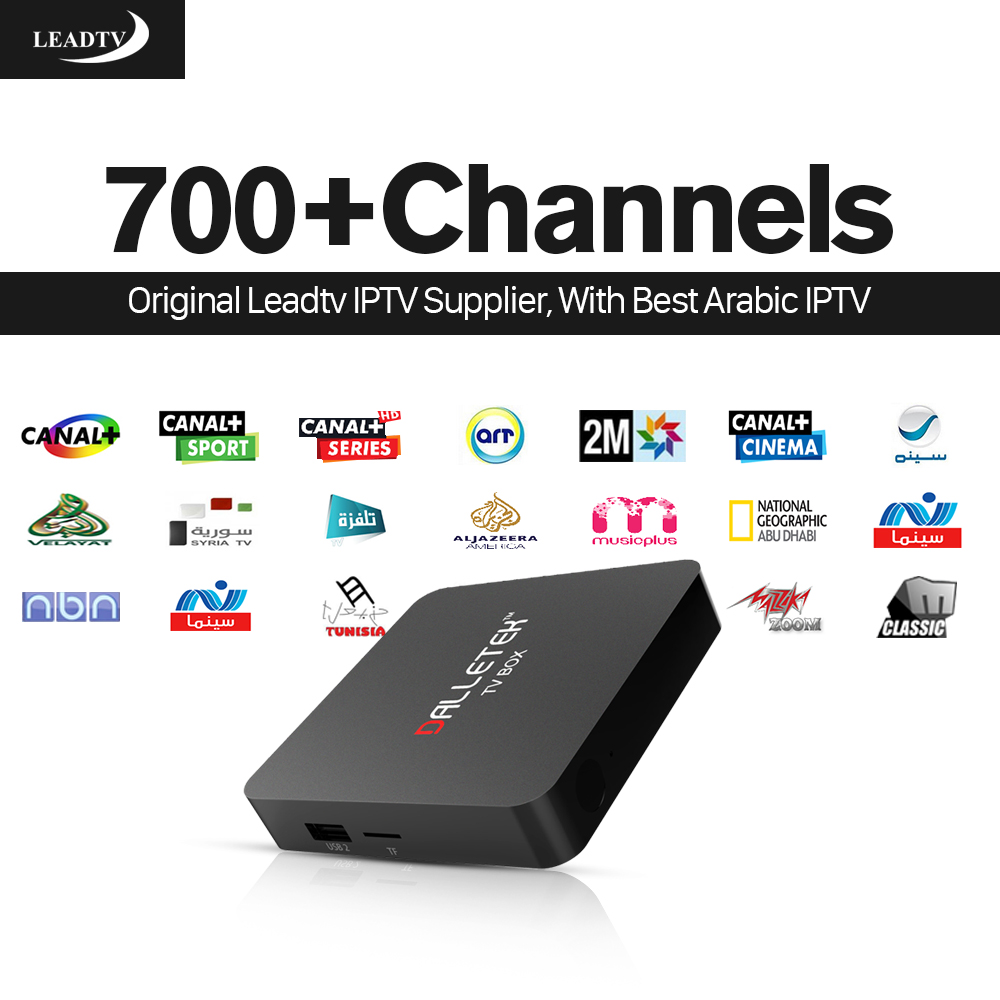 Dalletek Android 6.0 TV Box 1G + 8G S905X Reproductor Multimedia con 700 + Live