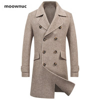 2019 new arrival winter coat men high quality Double side Classic trench coat men parka,men's fashion casual jacket size M 3XL