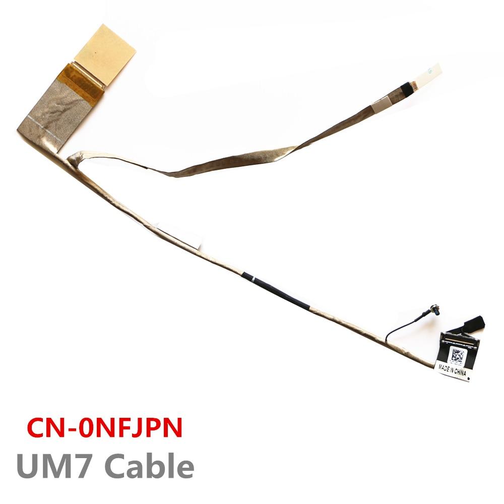 Nouveau câble UM7 CN-0NFJPN Lcd Lvds pour le câble Dell 13R N3010 Lcd Lvds