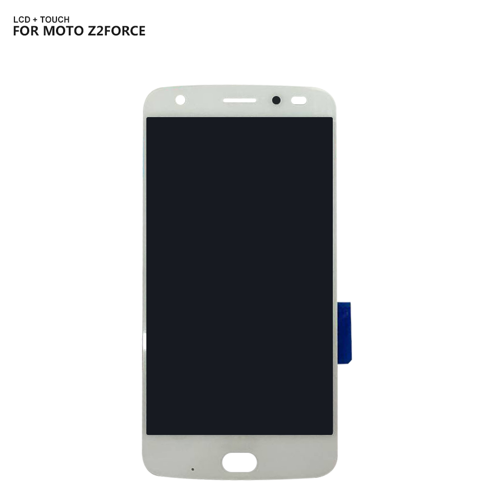 LCD Display For Motorola MOTO Z2 Force XT1789 LCD Display Digitizer Touch Screen Assembly Free Tools in Mobile Phone LCD Screens from Cellphones Telecommunications