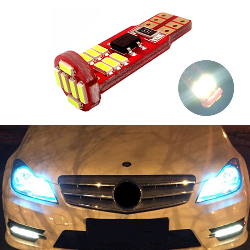 BOAOSI 1x Canbus Car <font><b>LED</b></font> T10 W5W 18LED Parking Light For Mercedes Benz w203 w204 w210 w205 <font><b>w202</b></font> w220 w124 w164 w219 W17 image