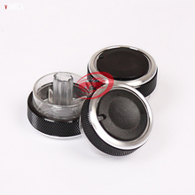 3Pcs Aluminum Alloy Air Conditioning Switch Classic for Ford Focus 2 MK2 focus 3 MK3 ST RS 2005-2014 Mondeo Knob Buttons