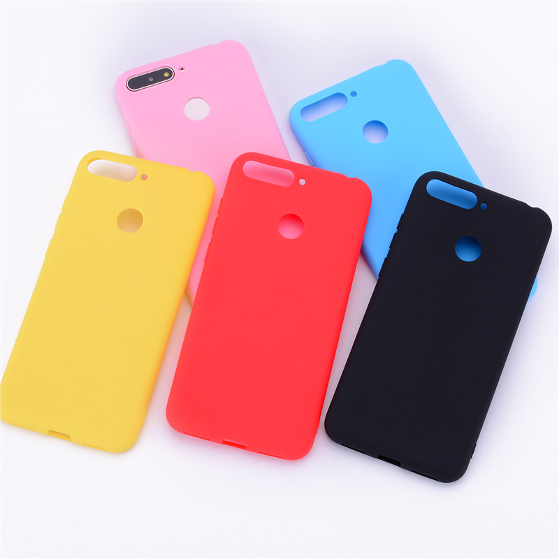 Honor 7C Cases On For Huawei Honor 7C AUM-L41 Case 5.7 Inch Soft TPU Back Cover Skin For Huawei Honor 7C Phone Cover Case Coque