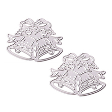 Christmas Jingle Bell Metal Cutting Dies for Card Making