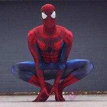 Newest spiderman costume 3D Printing spiderman costumes cosplay spandex zentai suit Halloween Ultimate Amazing Costume CS020430