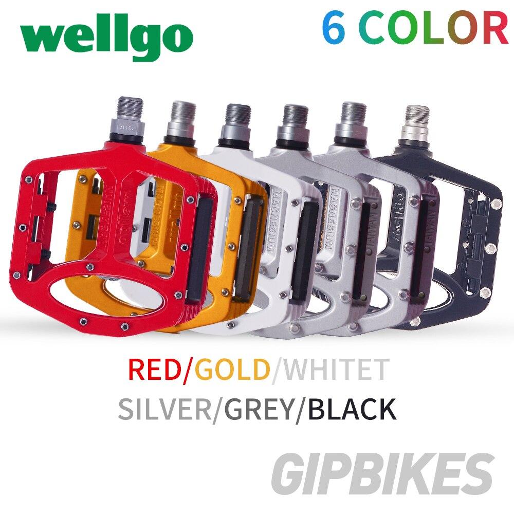 Wellgo MG-1 Super Leve Qualidade agnesium Anti-derrapante para a Estrada de Montanha Peças Da Bicicleta Peças Pedais Da Bicicleta Pedal Da Bicicleta